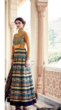 Stylish Cut Out Anarkali